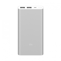 Внешний аккумулятор Xiaomi Mi Power Bank 2S 10000 mAh (2 USB) Silver (Серебристый)